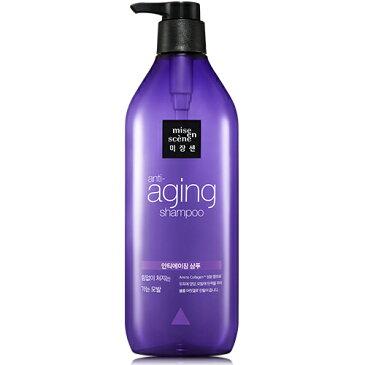 韓国直輸入【miseenscene(ミジャンセン)】Anti-aging Shampoo/ アンチエイジングシャンプー(680ml)