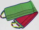 韓国 背中 あかすり タオル 1枚 ポケット付き 韓国直輸入 背中用 ハンド 定形外郵便 1
