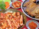たっぷり3〜4人前★韓国風焼肉セット(豚ショート・豚肩ロース・白菜(300)・10チシャ・10えごま...