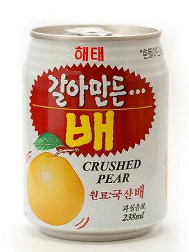 【1本】つぶつぶの果肉が入ってシャキシャキした食感♪すりおろし梨ジュース[韓国食材 韓国料理]