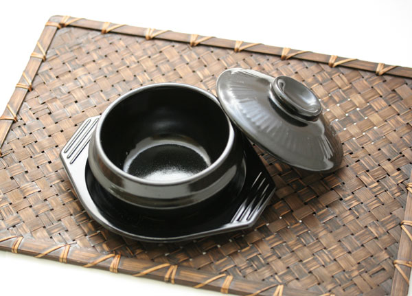 【12cm】(蓋・トレー付)韓国チゲ鍋用トゥッペギ[韓国食器] お取り寄せ
