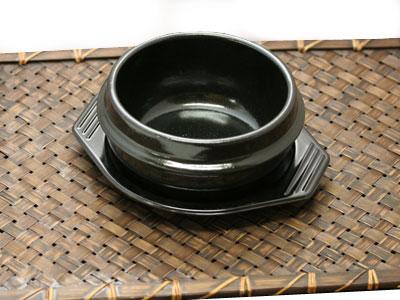 【14cm】(蓋なし・トレー付)韓国チゲ鍋用トゥッペギ[韓国食器] お取り寄せ