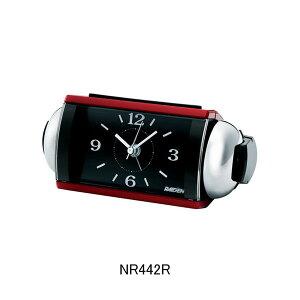 セイコー目覚まし時計NR442R(赤)大音量ベル音アラーム(スヌーズ機能付き)メーカー1年保証正規品セイコークロック