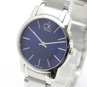 正規品カルバンクライン腕時計K2G2314Nシティ(レディース/女性用)ブルー文字盤ckcityメーカー2年保証CalvinKlein