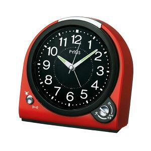 セイコー目覚まし時計NQ705R選べるアラーム音(ベル音または電子音)ライト付きメーカー1年保証正規品セイコークロック