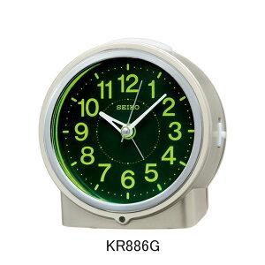 セイコー目覚まし時計KR886G電子音アラーム(スヌーズ機能)付きメーカー1年保証正規品セイコークロック