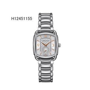 正規品ハミルトン腕時計H12451155バグリー(メンズ)銀色文字盤/ブレスレットメーカー2年保証HAMILTONBAGLEY【送料無料】
