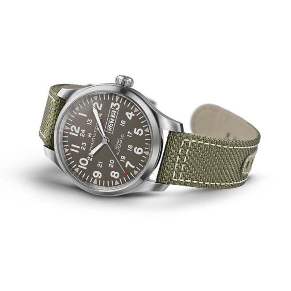 正規品 ハミルトン腕時計 H70535081カーキフィールドデイデイト(機械式自動巻き)メーカー2年保証 HAMILTON Khaki Field DayDate