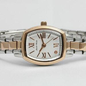 ジュリエットローズ腕時計JUL203PGS-01Mレディスウォッチ白文字盤(SS/PGPコンビケース)コンビブレスレットメーカー1年保証JULIETROSEプレゼントにも最適
