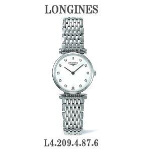 正規品ロンジン腕時計L4.209.4.87.6ラグランクラシックドゥロンジン(レディス)/(マザーオブパール文字盤)LONGINES-LaGrandeClassiqueDeLongines-L42094876メーカー2年保証【送料無料】