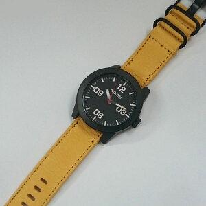正規品ニクソン腕時計NA2432448-00THECORPORAL(コーポラル)AllBlack/Goldenrod(メンズ)メーカー2年保証NIXON腕時計