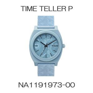 正規品ニクソン腕時計TimeTellerP/LightBluePaisley(ユニセックス)/NA1191973-00メーカー2年保証NIXON腕時計