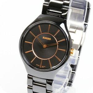 正規品ラドー腕時計R27.742.15.2ラドートゥルーシンライン(レディス)黒RADOTRUETHINLINEメーカー2年保証RADO-R27742152【送料無料】