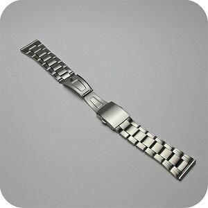 腕時計用ベルト・バンド/バンビBAMBI金属ブレスレットBSB1178S取付幅24ミリ対応&25ミリまたは26ミリフィット管パーツ付属も可能
