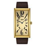 ティソ腕時計T117.509.36.022.00バナナウォッチTISSOTヘリテージバナナセンテナリーエディション金色文字盤/茶色カーフストラップ(クォーツモデル)メーカー2年保証正規品TISSOT−T1175093602200