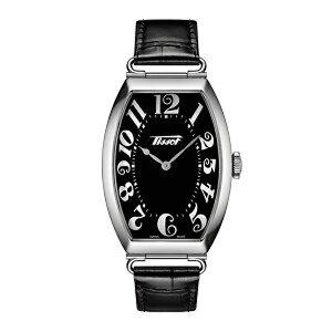ティソ腕時計T128.509.16.052.00ポルトTISSOTヘリテージポルト(クォーツモデル)黒色文字盤/黒色カーフストラップメーカー2年保証正規品TISSOT−T1285091605200【送料無料】