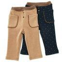 Biquette Club (ビケットクラブ) 長丈パンツ(80?130cm ) 【冬物】キムラタンの子供服