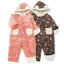 ★アウトレットYoupi! ジャンプスーツ(70〜90cm)【冬物】キムラタンの子供服