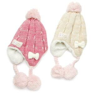 ♪子供服♪【9/29販売開始】coeur a coeur 帽子 (46〜52cm)【冬物】キムラタンの子供服