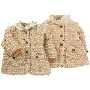 Lily ivory (リリーアイボリー) ジャケット (80?130cm ) 【冬物】キムラタンの子供服