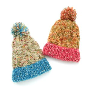 ♪子供服♪【10/6販売開始】mother goose ニット帽子 (46〜54cm)【冬物】キムラタンの子供服