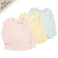 ♪子供服♪゜☆+. ネットオリジナル商品 . +☆゜ Biquette ドット柄Tシャツ (80〜130cm)【春物...