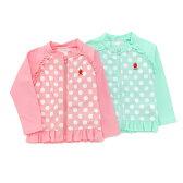 Youpi (ユッピー ) ラッシュガード (80〜130cm) 女の子 UVカット 初夏物 80 90 95 100 110 120 130 キムラタンの子供服