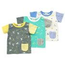 mothergoose(マザーグース)半袖Tシャツ(80〜130cm)女の子男の子夏物809095100110120130キムラタンの子供服