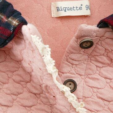 【あす楽】Biquette (ビケット ) トレーナー (80〜130cm) 女の子 秋物 80cm 90cm 95cm 100cm 110cm 120cm 130cm キムラタンの子供服