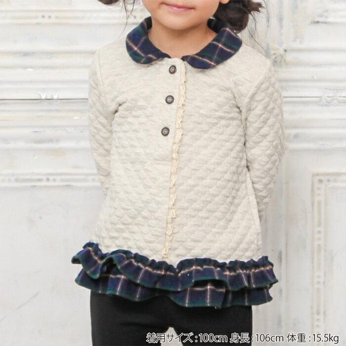 Biquette(ビケット)トレーナー(80〜130cm)女の子秋物80cm90cm95cm100cm110cm120cm130cmキムラタンの子供服