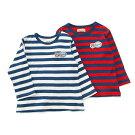 Piccolo(ピッコロ)長袖Tシャツ(70〜90cm)男の子秋物708090キムラタンの子供服