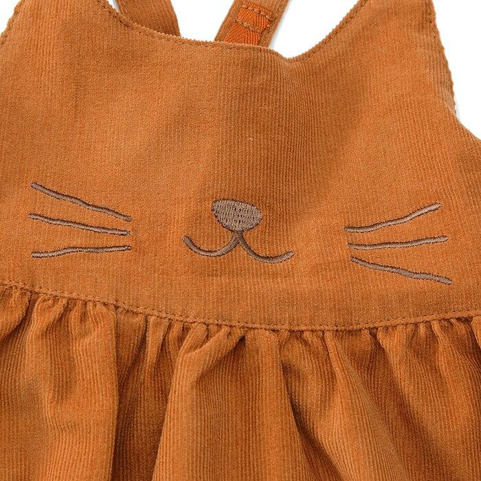 Lilyivory(リリーアイボリー)ジャンパースカート(80〜130cm)女の子秋物809095100110120130キムラタンの子供服
