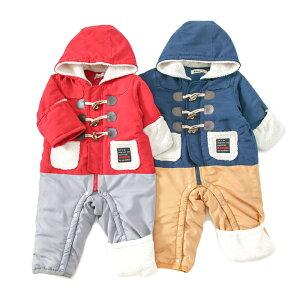 【送料無料】【SALE アウトレットセール】Bobson (ボブソン ) ジャンプスーツ (70〜80cm) 男の子 70cm 80cm キムラタン 子供服