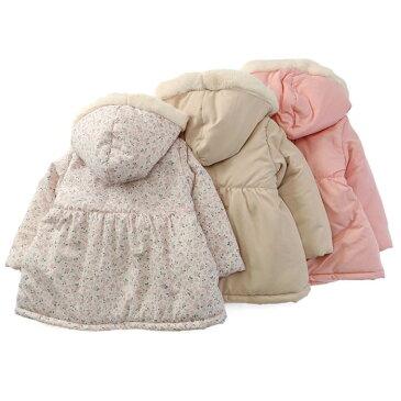 【あす楽】Biquette (ビケット ) コート (80〜130cm) 女の子 冬物 80cm 90cm 95cm 100cm 110cm 120cm 130cm キムラタンの子供服