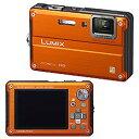 【送料無料】パナソニック Panasonicデジタルカメラ 「Lumix」サンライズオレンジ DMC-FT2...