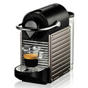 【送料無料】ネスプレッソ ピクシー C60TI-I(チタン)Nespresso PIXIE(ピクシー) コーヒーメ...