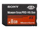 【納期約7〜10日】MS-HX8B [SONY ソニー] メモリースティック PRO-HG デュオ MSHX8B