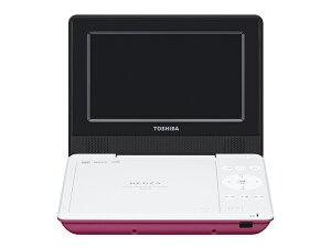 【2015年8月7日発売予定】SD-P710SPピンク[TOSHIBA東芝]ポータブルDVDプレーヤーSDP710SP