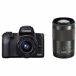 デジタルカメラ, ミラーレス一眼カメラ OK A-81canon EOSKISSM-WZKBK EOS Kiss M EOSKISSM WZKBK BK