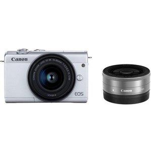 デジタルカメラ, ミラーレス一眼カメラ 21canon EOSM200WH-WLK EOS M200 EOSM200WHWLK