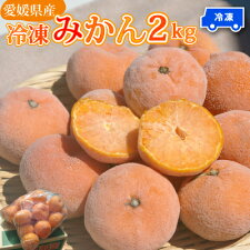 【冷凍】愛媛産昔ながらの冷凍みかん2kg愛媛みかんをそのまま凍らせました。果物そのもの。添加物なしでたくさん食べても安心。自然な甘みです。