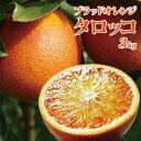 ご予約!生食向きの品種です。 愛媛産タロッコ3kg(ブラッドオレンジ)(送料無料・北海道沖縄除…