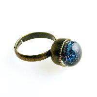 ダイクロしずく指輪01u-di01-2