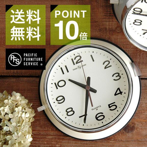 P.F.S.別注 SEIKOクロック バス時計【シンプル おしゃれ 壁掛け時計】