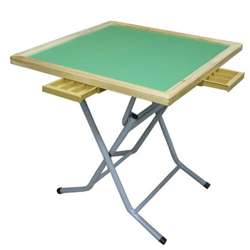 折りたたみ式 麻雀卓 麻雀テーブル ハイキャスト 立卓 N-2 収納便利 娯楽 デイサービス、レクリ...