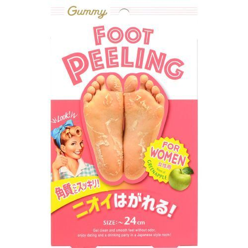 グミー フットピーリング FOR WOMEN / 1回分 / グリーンアップルの香り
