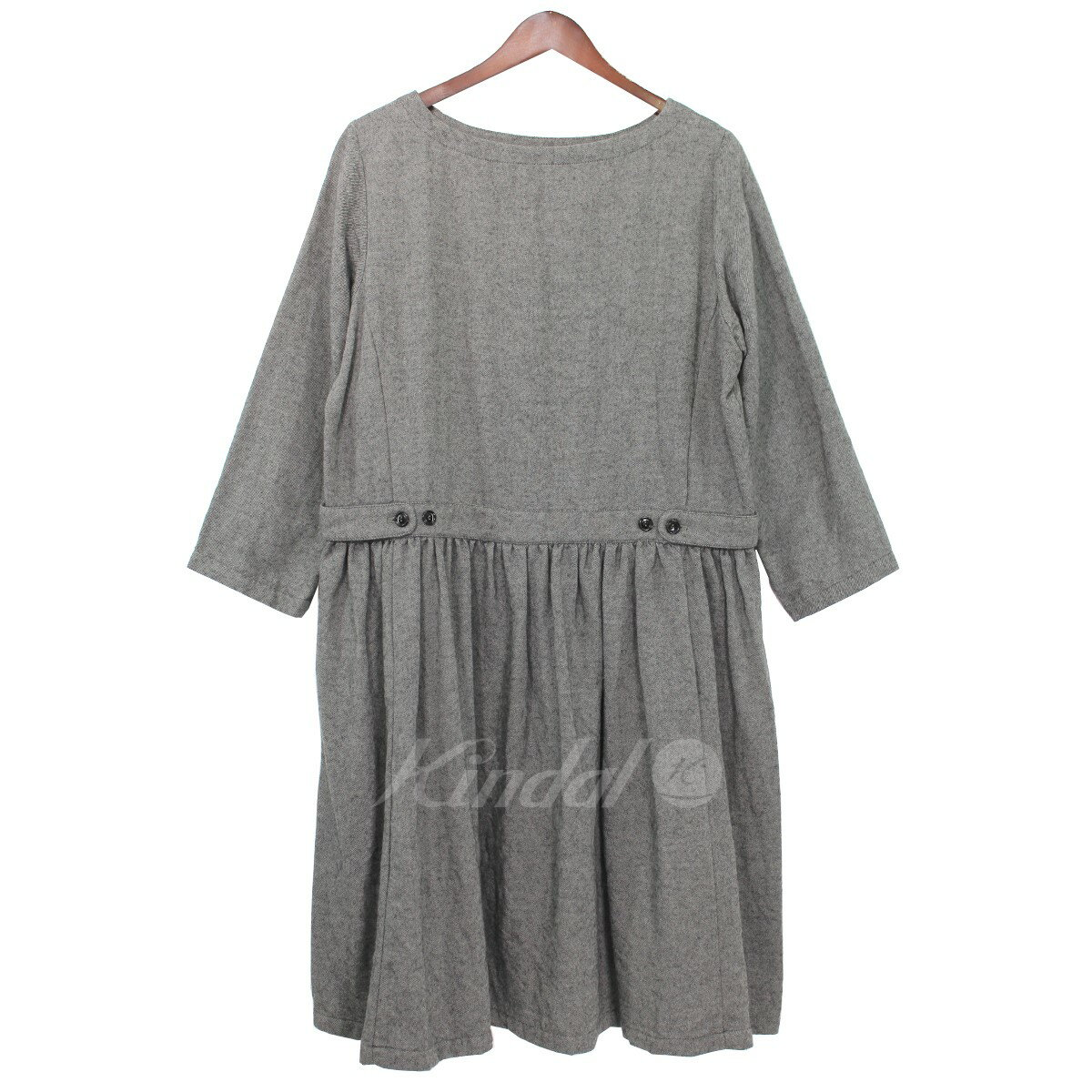 Nest Graynest Wool Cotton Robe Robe 14aw Dress 1FlJKc