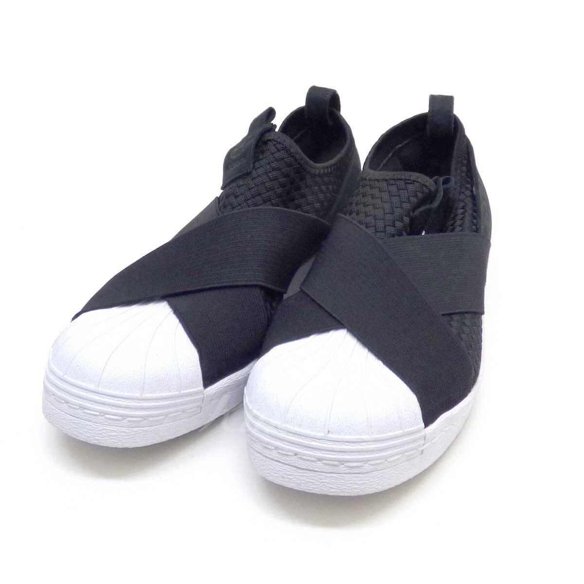 finest selection 702a6 20e09 adidas SUPERSTAR SLIP-ON sneakers 698007 black X white size: 26 (Adidas)
