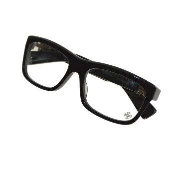 【中古】CHROME HEARTS MY DIXADRYLL BSフレア ウェリントン眼鏡 ブラック 【送料無料】 【281018】(クロムハーツ)