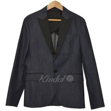 【中古】DSQUARED2 16SS タキシードジャケット インディゴ サイズ:46 【送料無料】 【281018】(ディースクエアード)